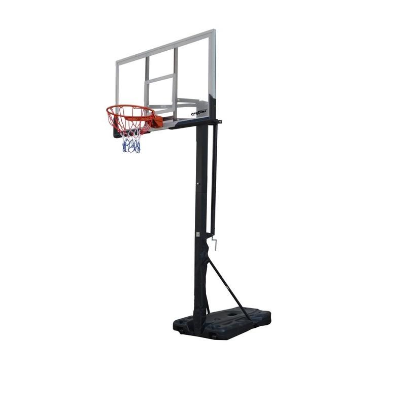 Мобильная баскетбольная стойка Proxima 60 quot;, поликарбонат, S023