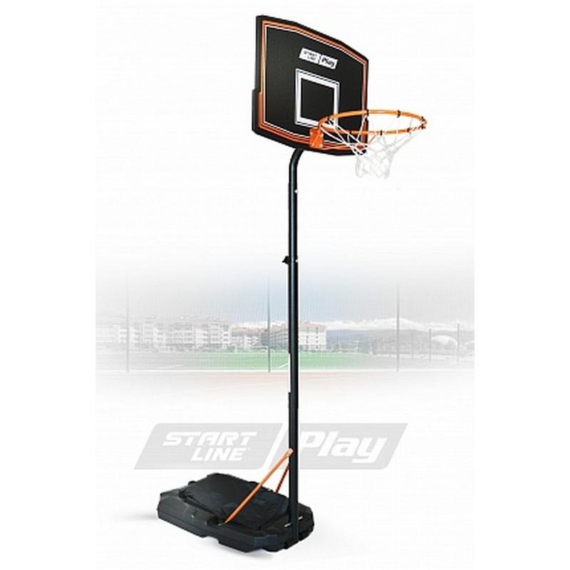 Баскетбольная стойка Start Line Junior 080 (165-220 см, р-р. щита 75x50см, кольцо 41с) ZY-080