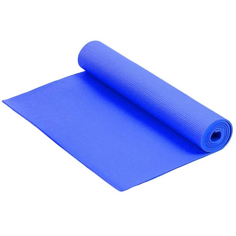 Коврик для фитнеса и йоги Larsen PVC синий р173х61х0,4см
