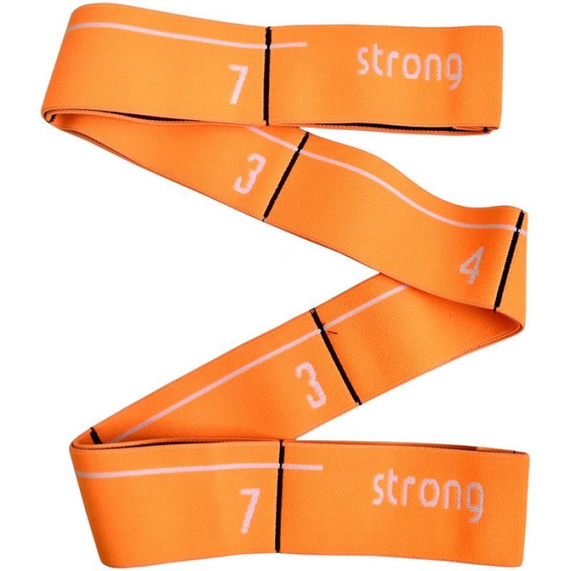 Эспандер эластичная лента 5x92 см MRB8011-5 оранжевая