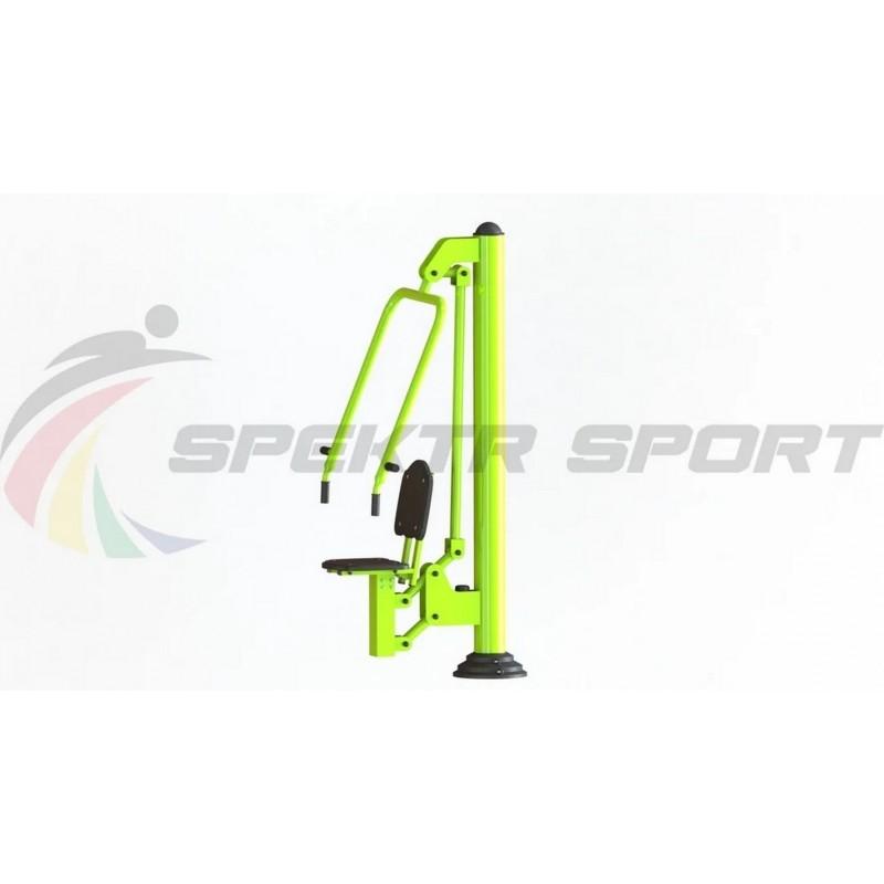 Уличный тренажер взрослый Жим от груди для одного Spektr Sport ТС 112