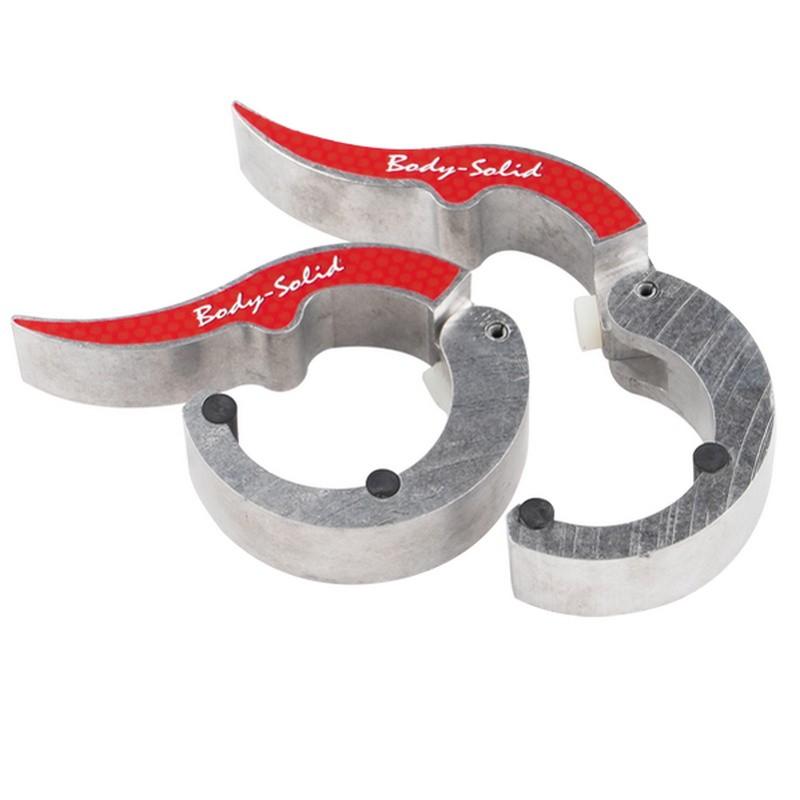 Замки алюминиевые Body Solid D50 мм ROEPKE (пара) BSTROC-NAT