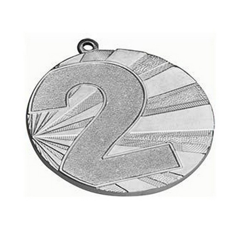 Медаль 2 место (70) MMC7071/S G-2,5мм