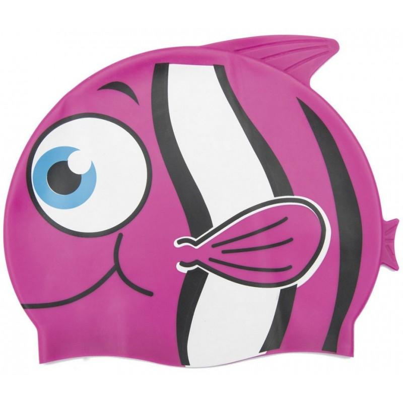 Шапочка поавательная Рыбка YS10 розовый