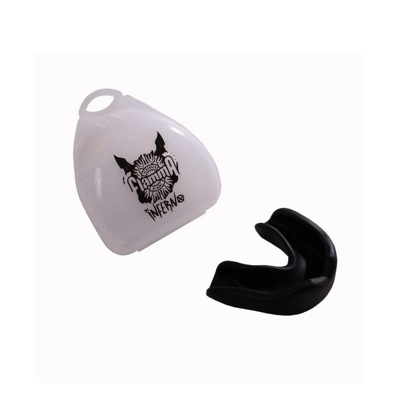 Капа Flamma Inferno Black MGF-015BL, с футляром, черный
