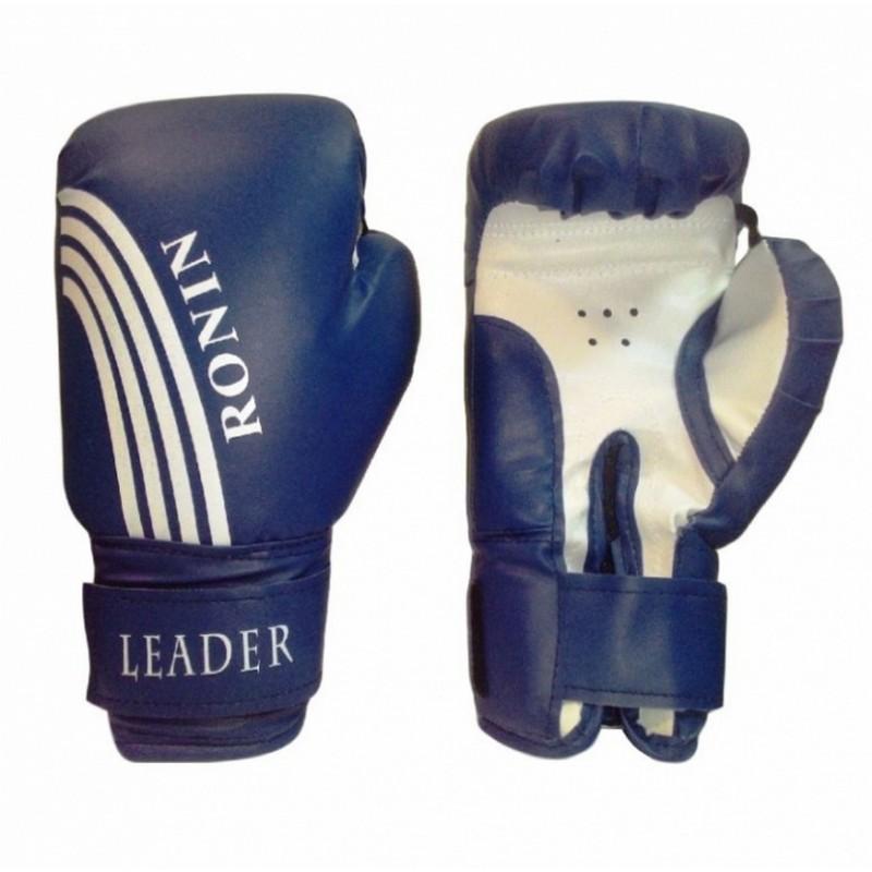 Боксерские перчатки Ronin Leader синий 4 oz