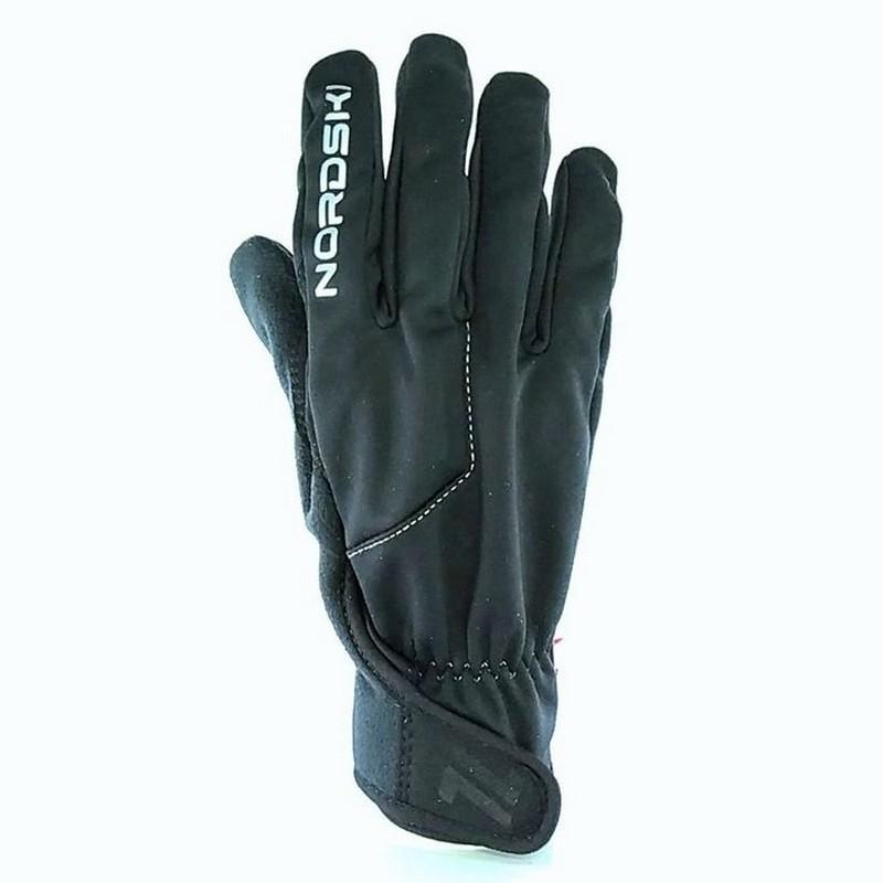 Перчатки лыжные Nordski Jr Racing WS NSJ147100 черный