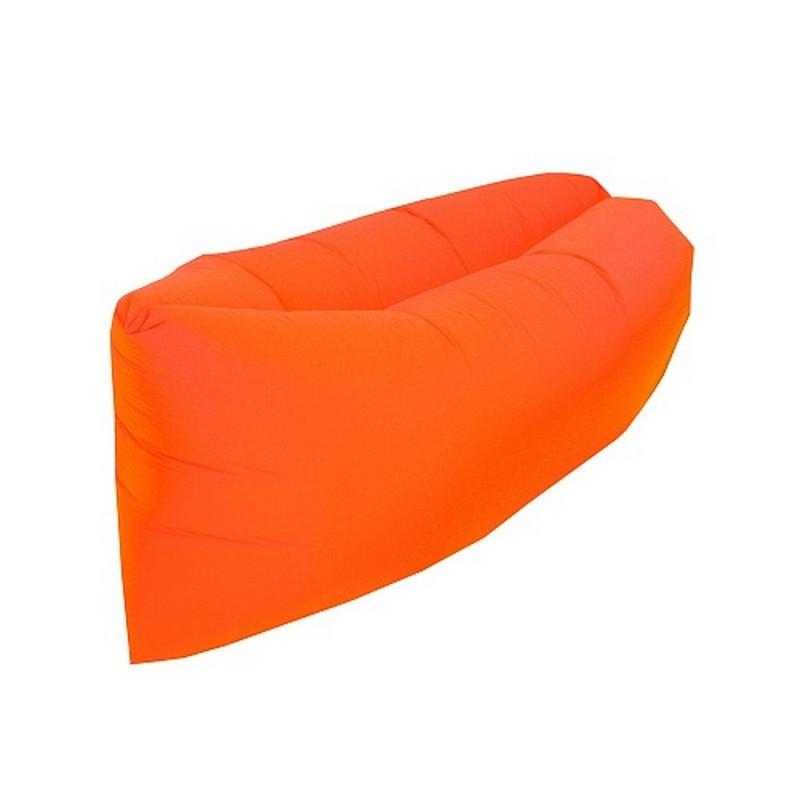 Надувной лежак Greenwood Lazy Bag оранжевый