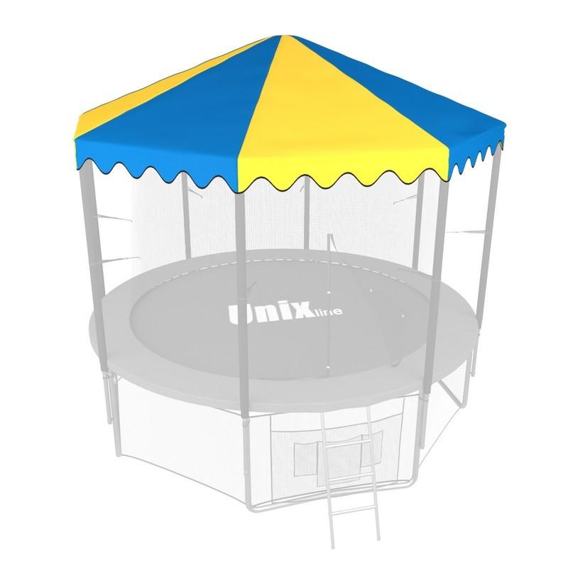 Крыша для батута Unix Line line 8 ft blue yellow