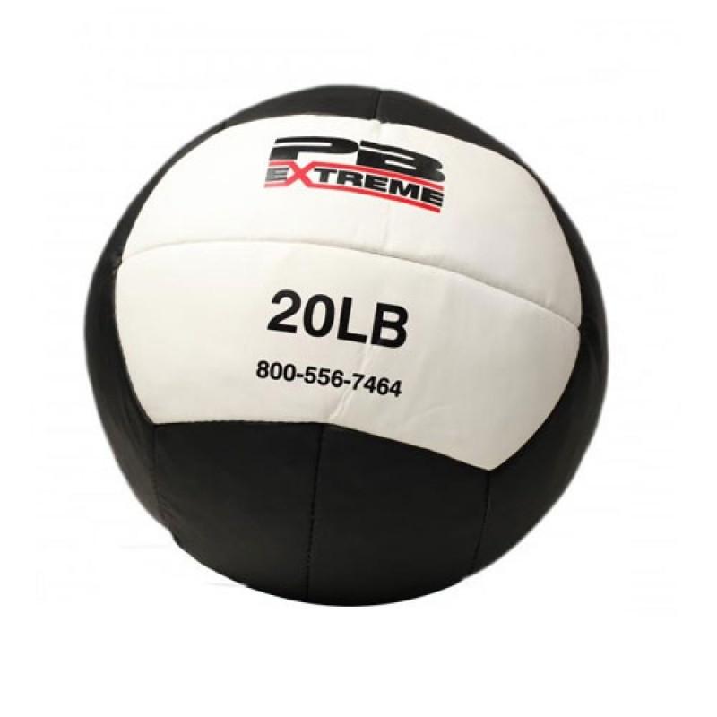 Медицинский мяч Perform Better Extreme 9 кг 2680 черный с белым