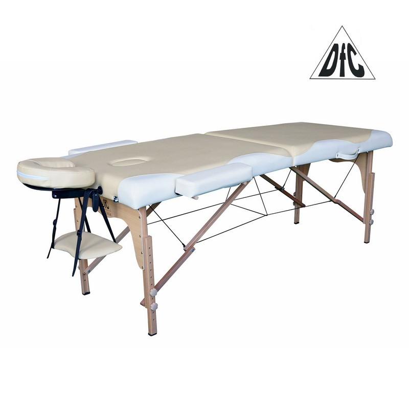 Массажный стол DFC Nirvana Relax бежевый\кремовый