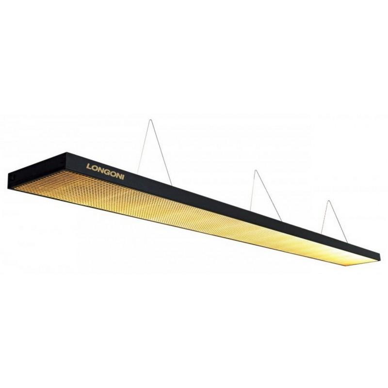 Лампа люминесцентная Longoni Magnum (черная, золотистый отражатель) 75.287.03.7