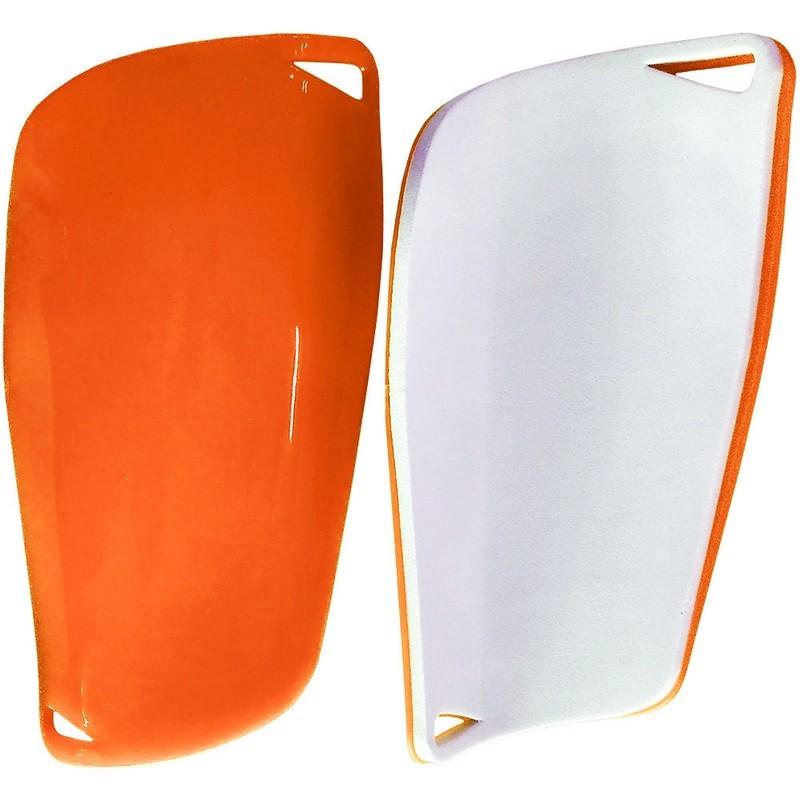 Щитки футбольные юниорские C33335 оранжевые