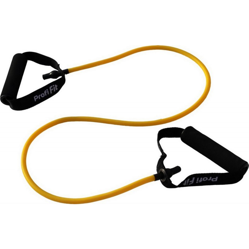 Эспандер трубчатый Profi-Fit сопротивление 3,5 кг, желтый
