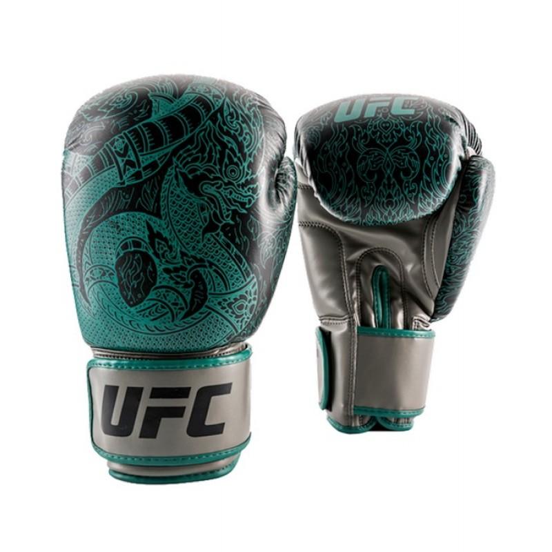 Боксерские перчатки UFC PRO Thai Naga Green, 16oz