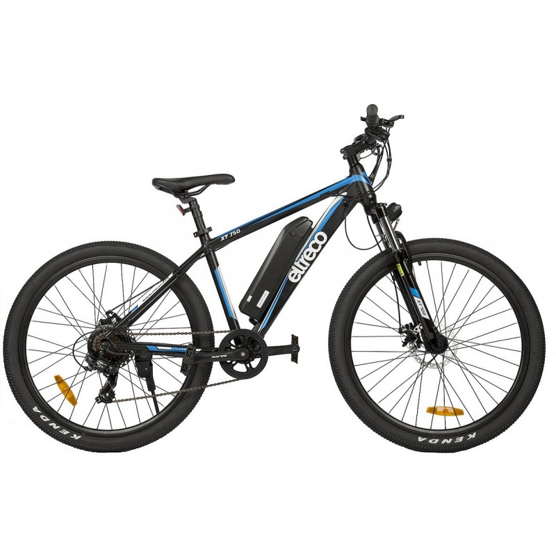 Велогибрид Eltreco XT750 black