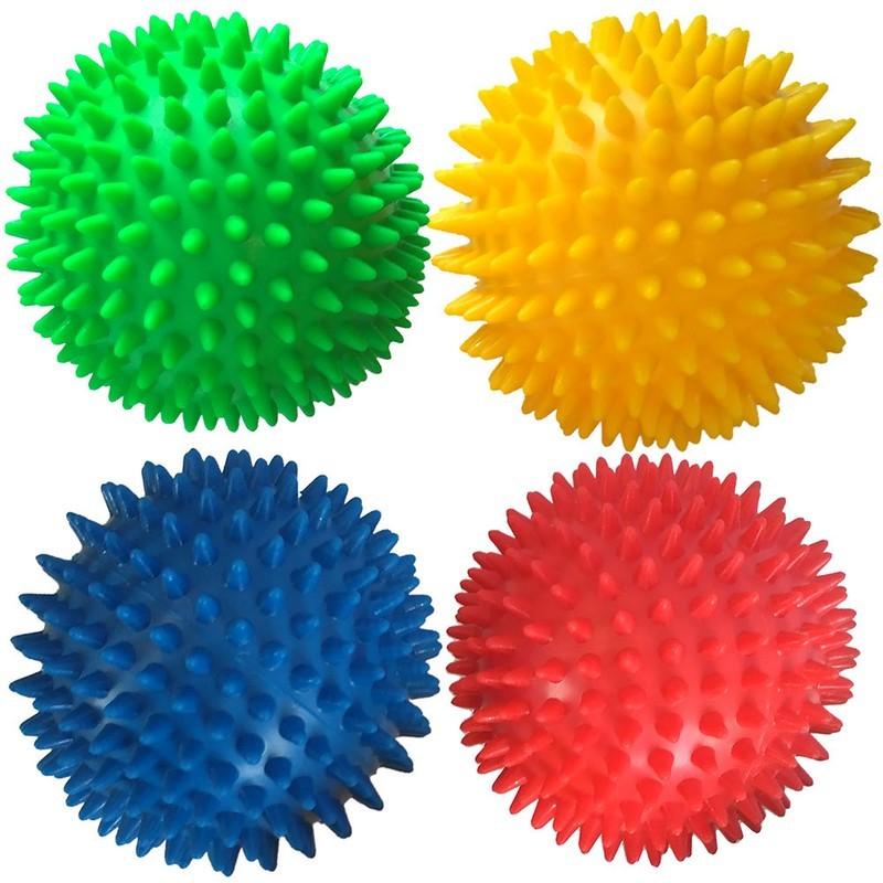 Мяч массажный твердый Диа 9 см T07639 красный