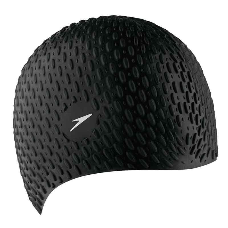 Шапочка для плавания Speedo Bubble Cap 8-709290001 черный