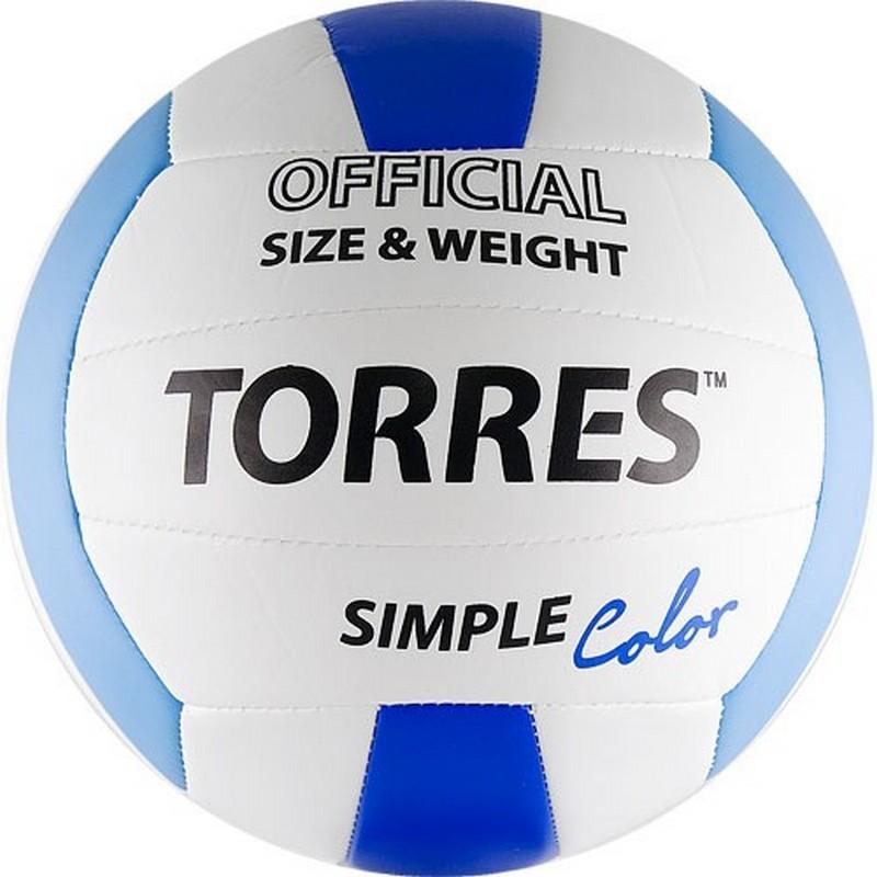 Волейбольный мяч Torres Simple Color V30115 №5