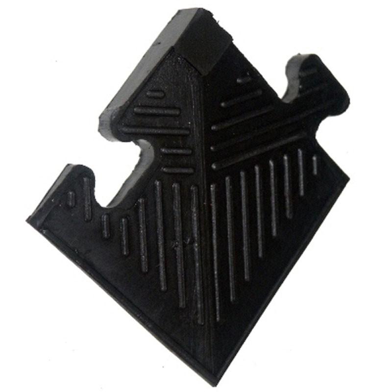 Уголок резиновый для коврика MB Barbell MB-MatB-Cor20 чёрный