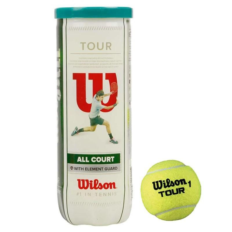 Мячи теннисные Wilson All Court 3B WRT106300