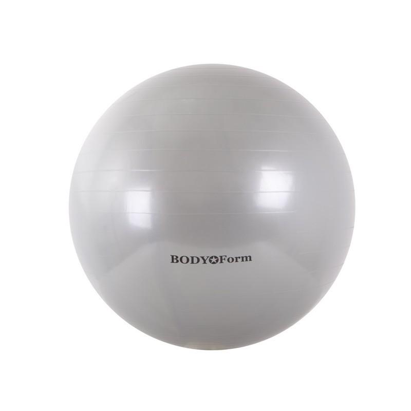 Гимнастический мяч Body Form BF-GB01 D55 см. серебристый