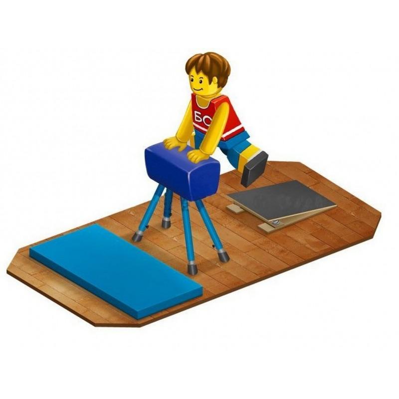 Конь гимнастический прыжковый эконом Гимнаст 9.49