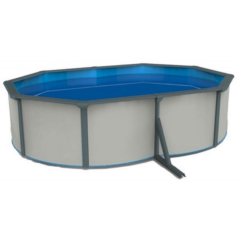 Морозоустойчивый бассейн овальный 490x360x130см Poolmagic White (Basic)