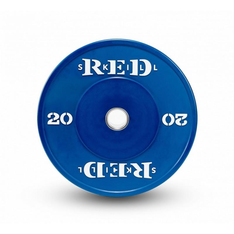 Диск бамперный RED Skill D50мм цветной 20 кг