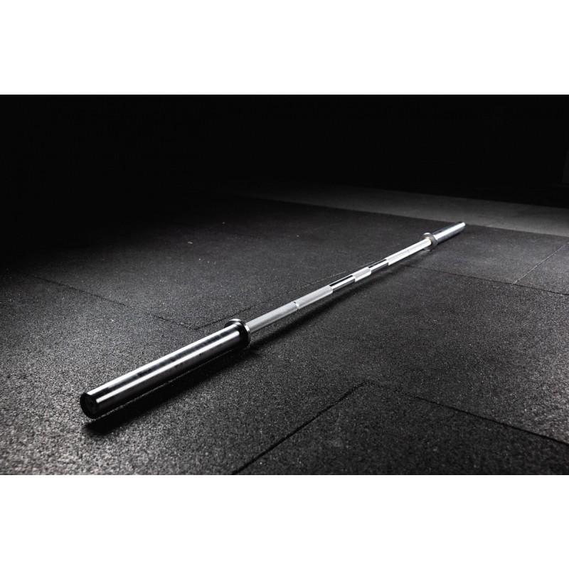Гриф L2200 D50мм YouSteel Powerlifting bar 20kg, хром + хром