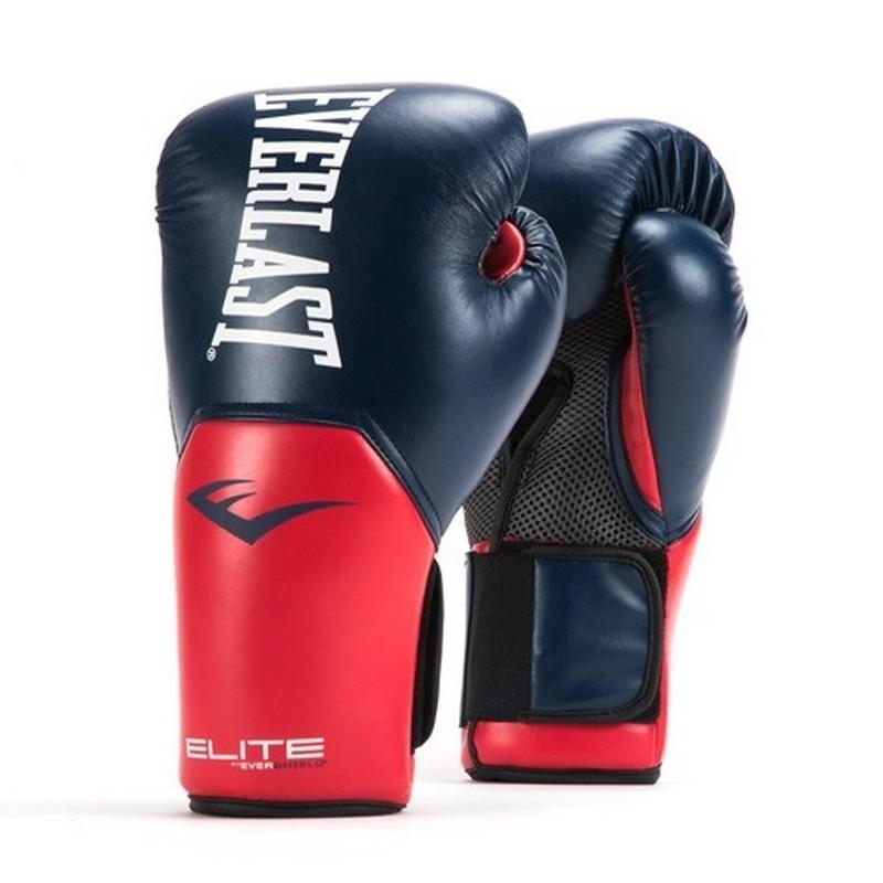 Перчатки тренировочные Everlast Elite ProStyle 10 oz син/красн. P00001203-10