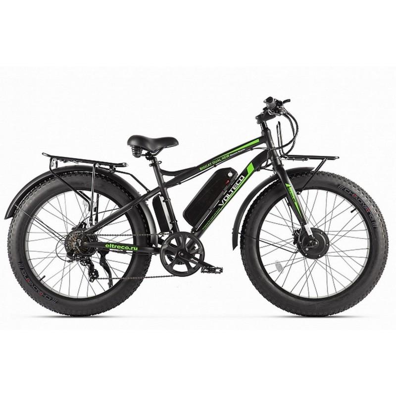 Велогибрид Volteco BigCat Dual New 2020 022560-2307 черный