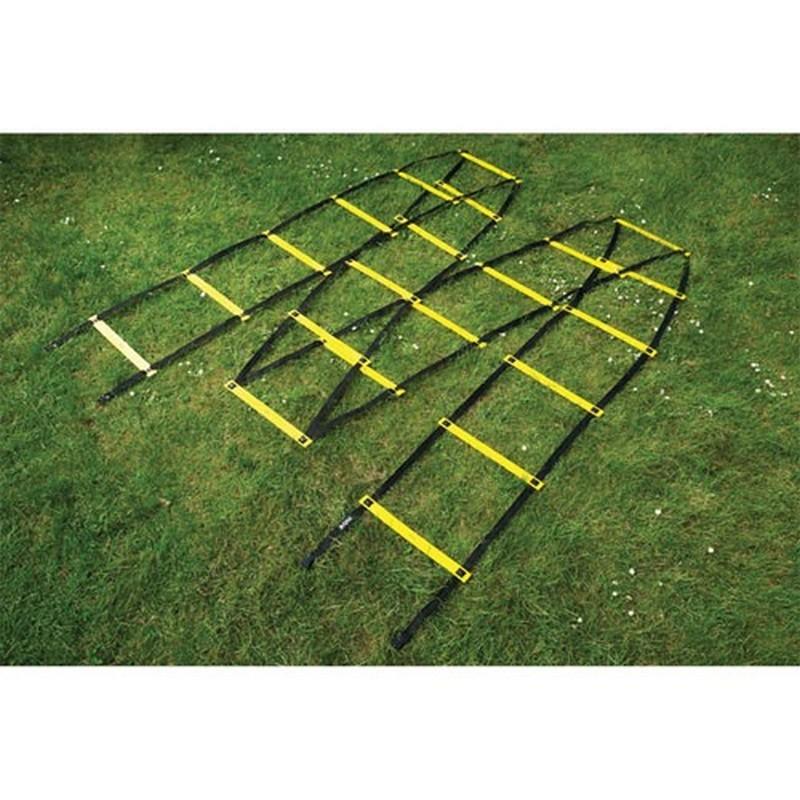 Лестница для тренировок Mitre длина 9 м, пластик A3084AYA1 желто-черная
