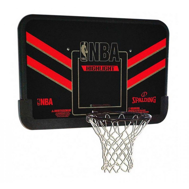 Баскетбольный щит, композит Spalding 44 quot; NBA Highlight 80798CN