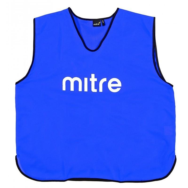 Манишка тренировочная Mitre Т21503RG2-SR синий