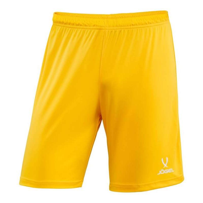 Шорты футбольные J?gel JFT-1120-041-K, желтый/белый, детские