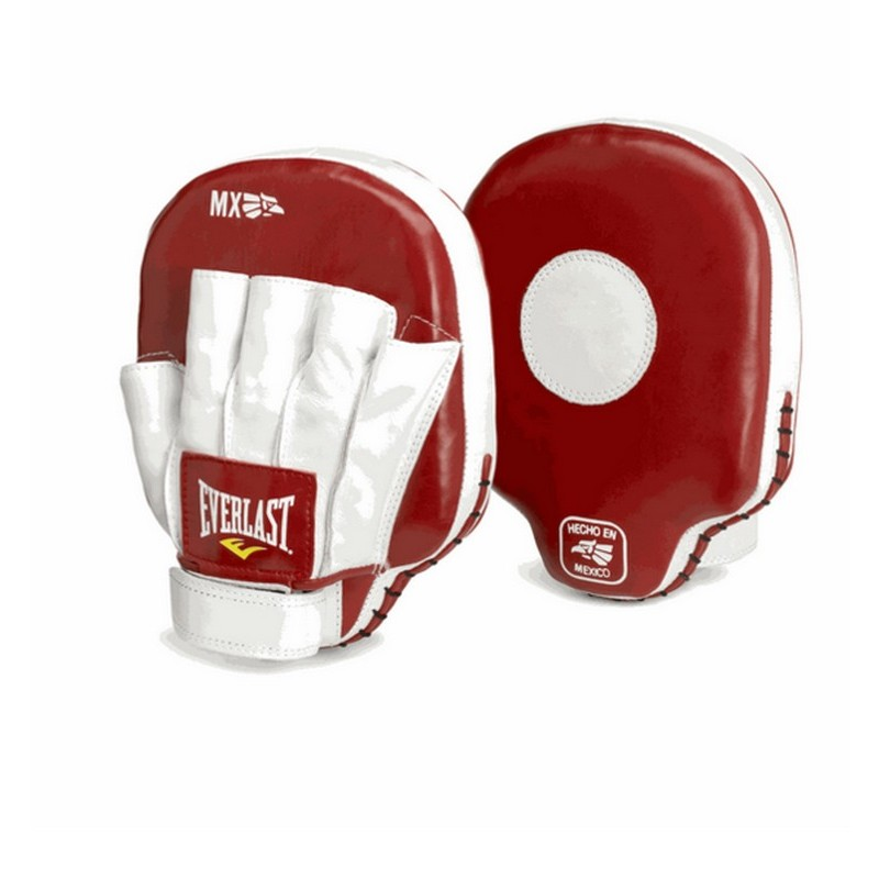 Лапы Everlast MX Mitts 421100 красный