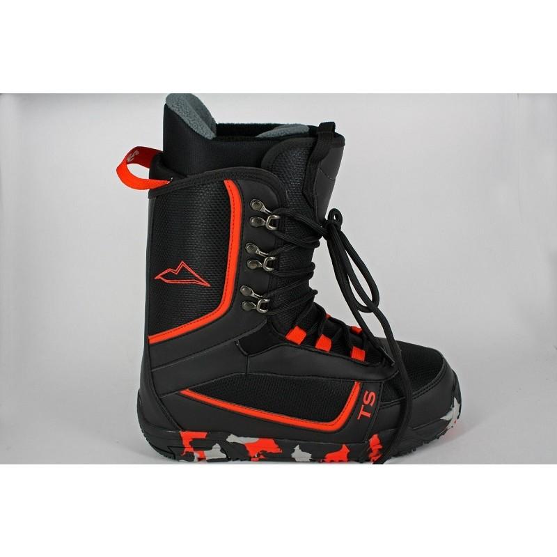 Ботинки для сноуборда Top Sport Lemur B5 black