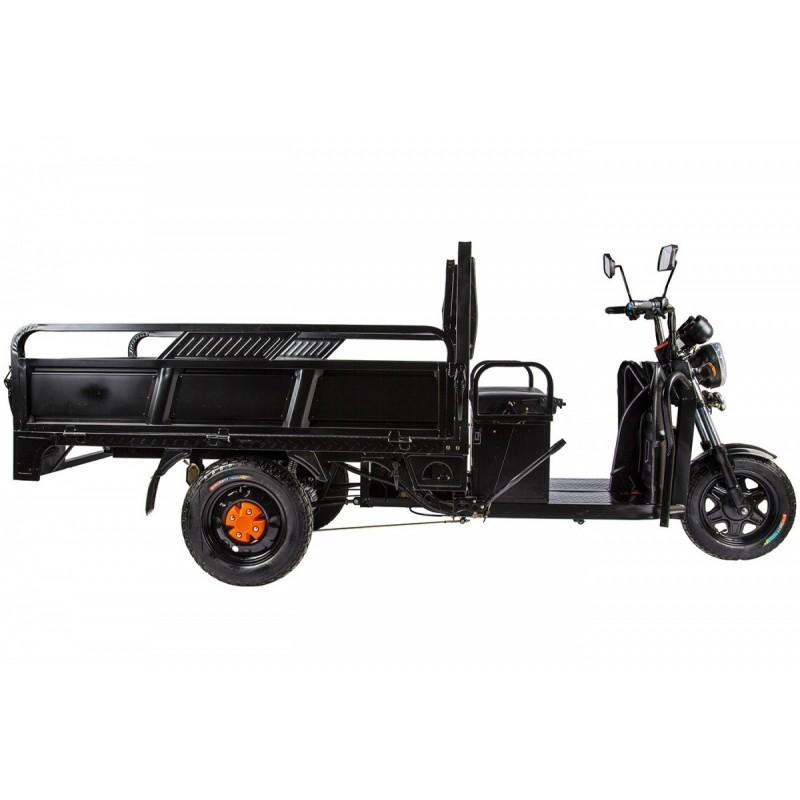 Грузовой электрический трицикл RuTrike D4 1800 60V1200W черный