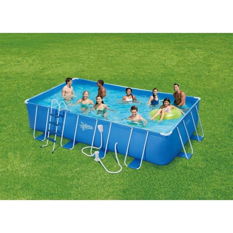 Каркасный бассейн SummerEscapes Polygroup 549х274х132 см P20-2052-В
