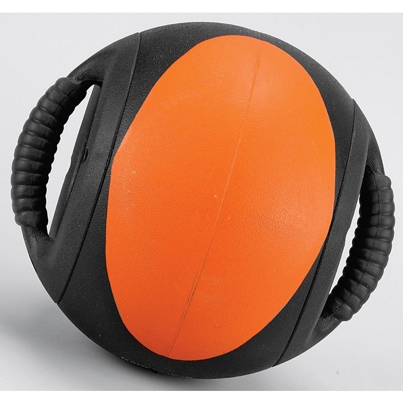 Мяч с ручками Perform Better 25FT Dual Grip Medicine Ball PB\35139\25-BK-BZ