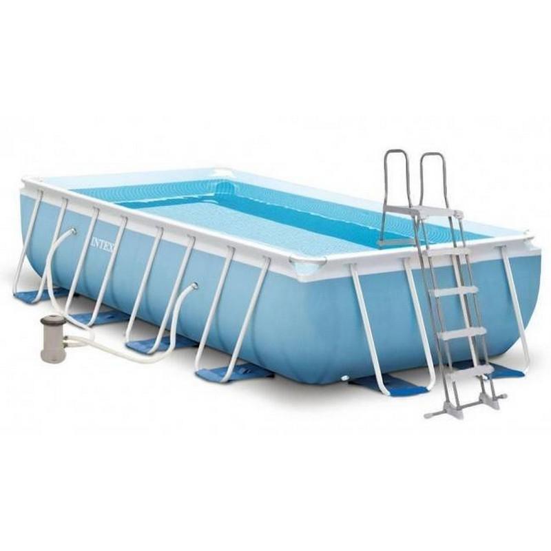 Каркасный бассейн прямоугольный 300х175x80cм Intex Prism Frametm Rectangular 26784