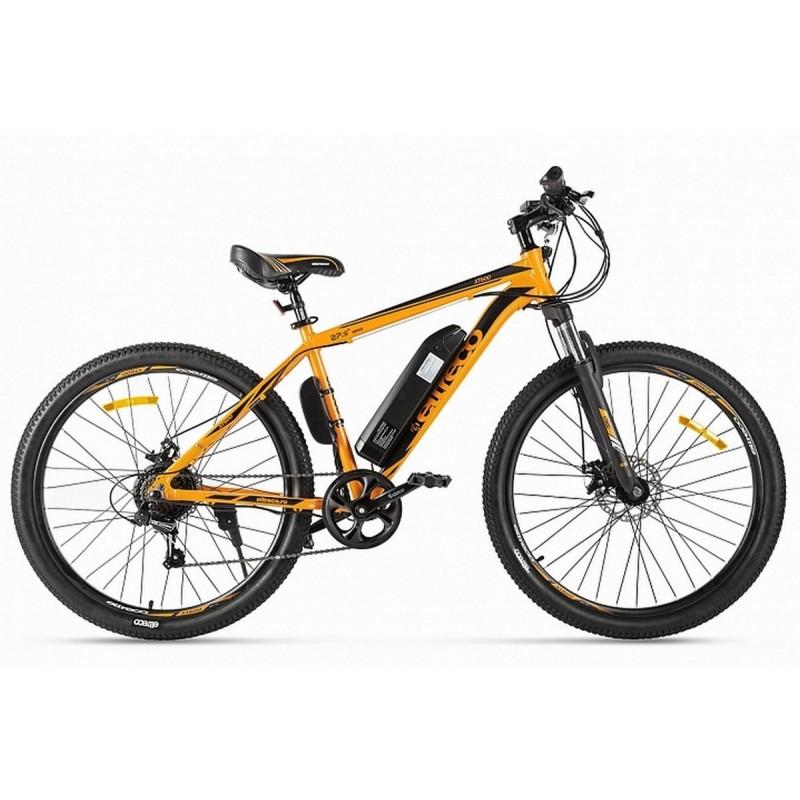 Велогибрид Eltreco XT 600 022297-2127 оранжево-черный