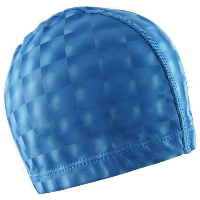 Шапочка для бассейна F11840 ПУ (синяя)