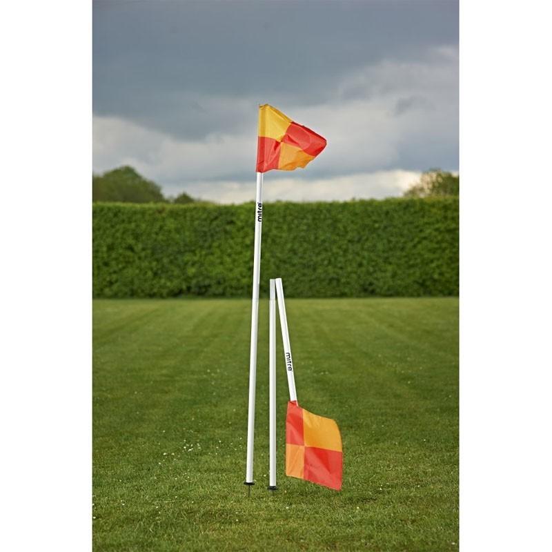 Флаг угловой складной Mitre со съемным штыком A9111WA1 белый-мультиколор