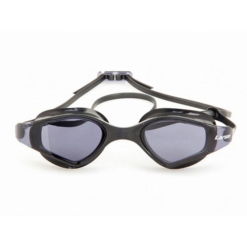 Очки для плавания Larsen S53 черный