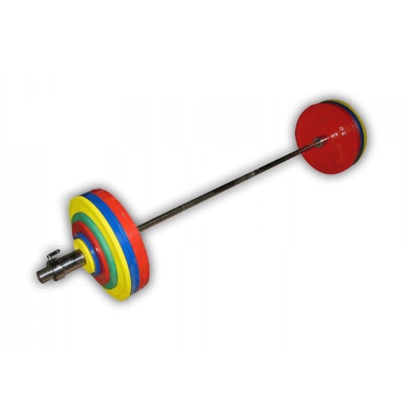 Штанга рекордная для пауэрлифтинга, 282,5 кг Profigym ШП-017