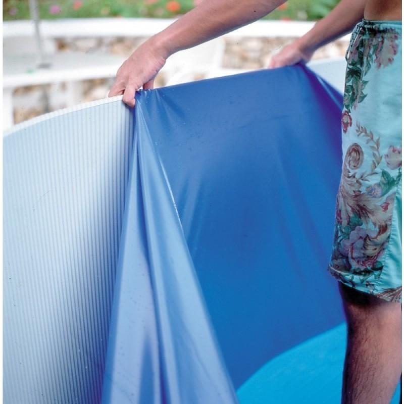 Чаша для для овального бассейна 730x375x132см GRE толщина 0,40 мм с накидным кантом FPROV738