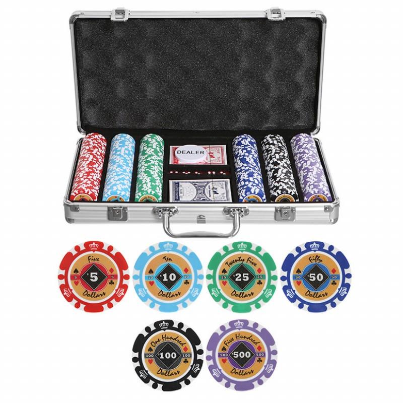 Набор для покера Partida Crown на 300 фишек