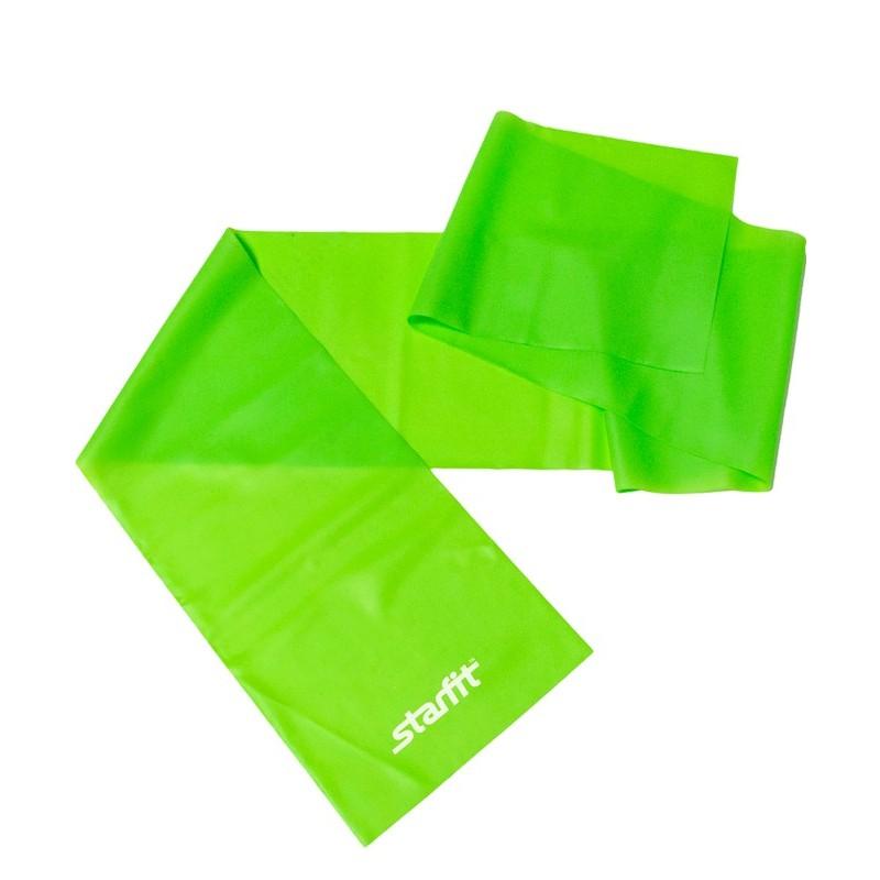 Эспандер ленточный для йоги Starfit ES-201, зеленый